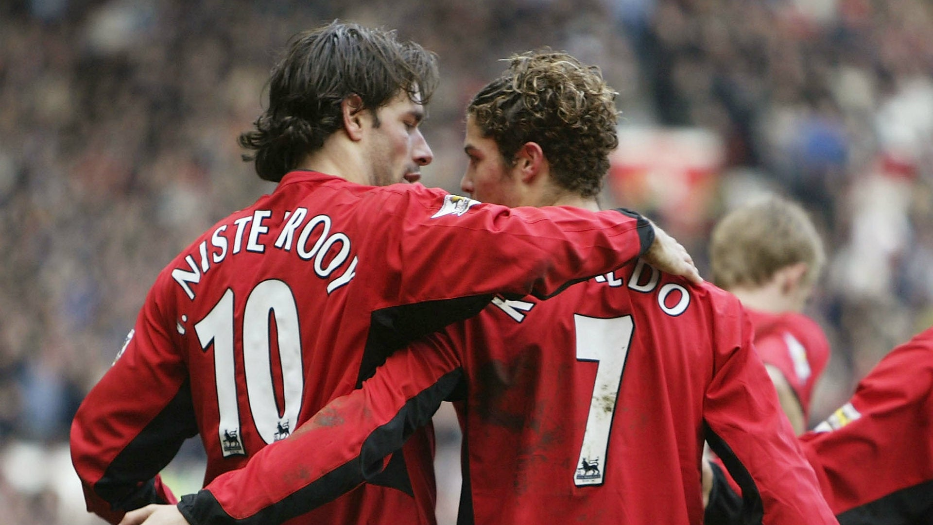 The day Ruud Van Nistelrooy made Cristiano Ronaldo cry