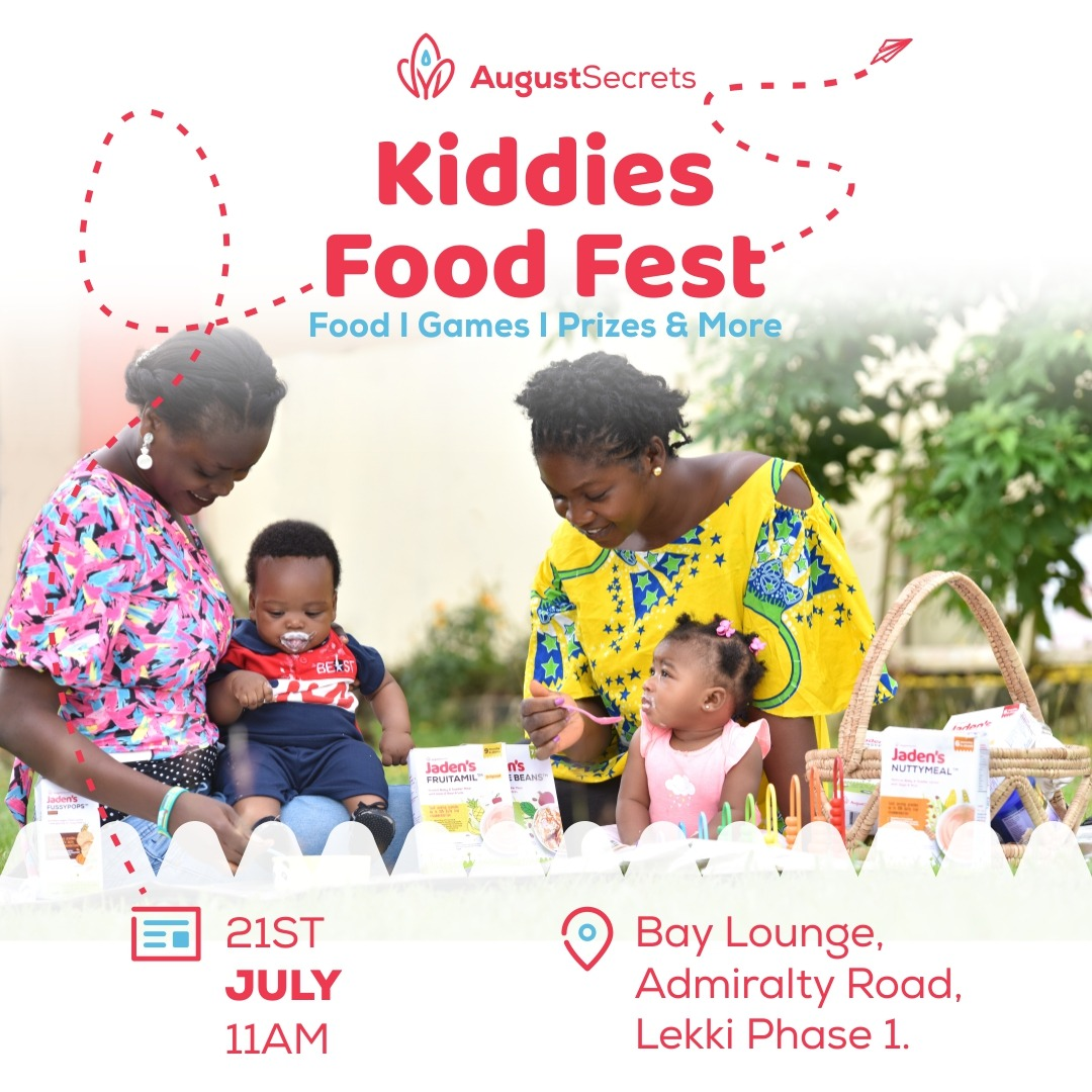 INTRODUCING AUGUST SECRETS FIRST KIDDIES FOOD FESTIVAL