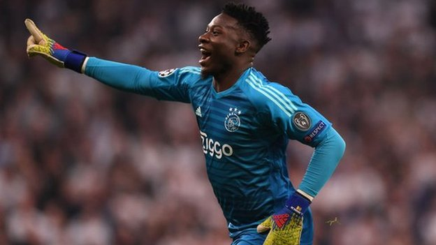 Cameroon's Andre Onana: 'Black keepers have to work harder'
