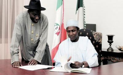 Today, I remember, celebrate YarAdua for the works that he had done  Jonathan