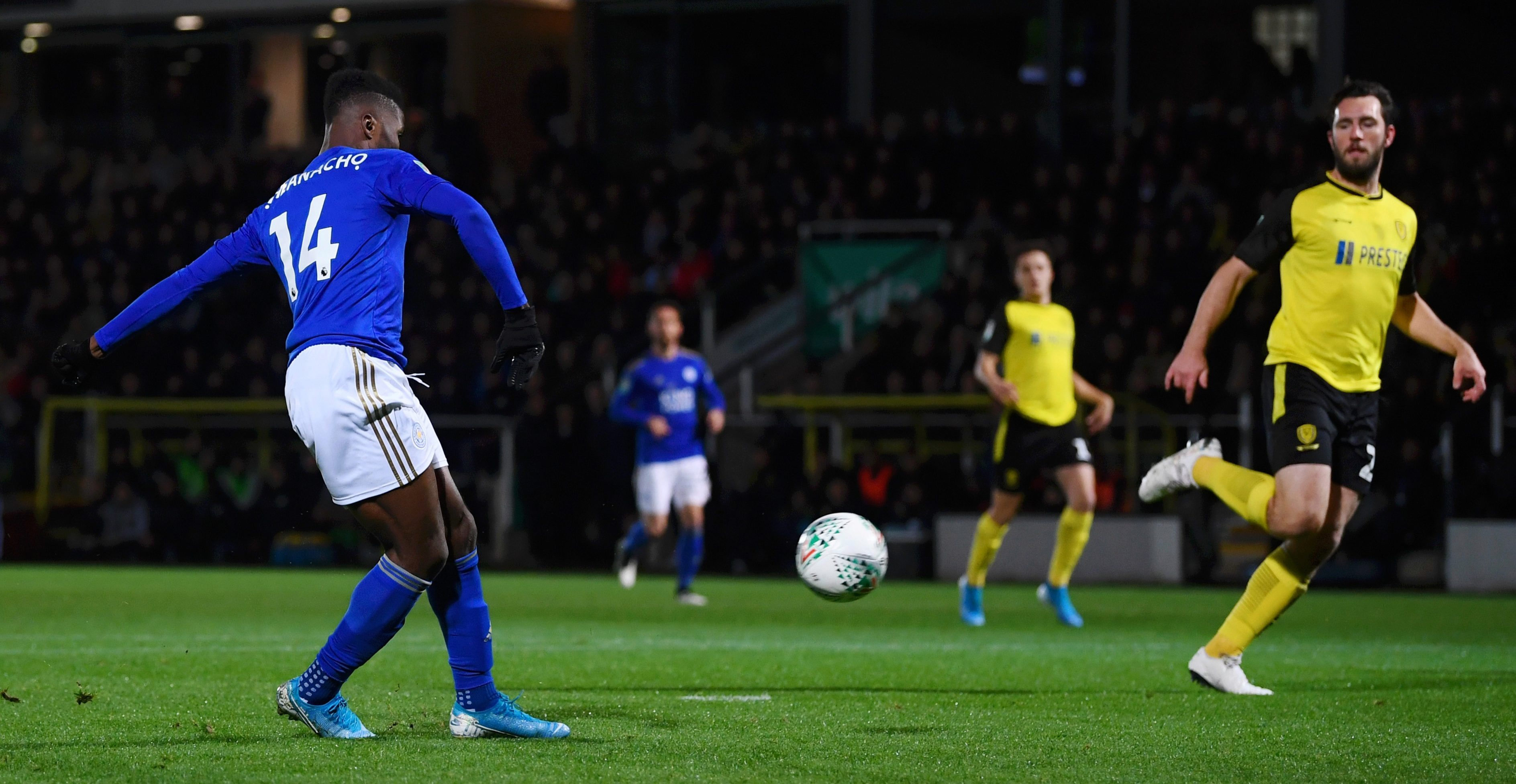 Burton 1-3 Leicester: Foxes through to Carabao Cup quarter-finals
