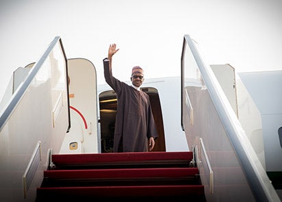 Buhari not travelling to UK  Presidency