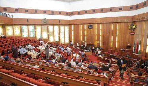 Updated: Senate gets Principal officers