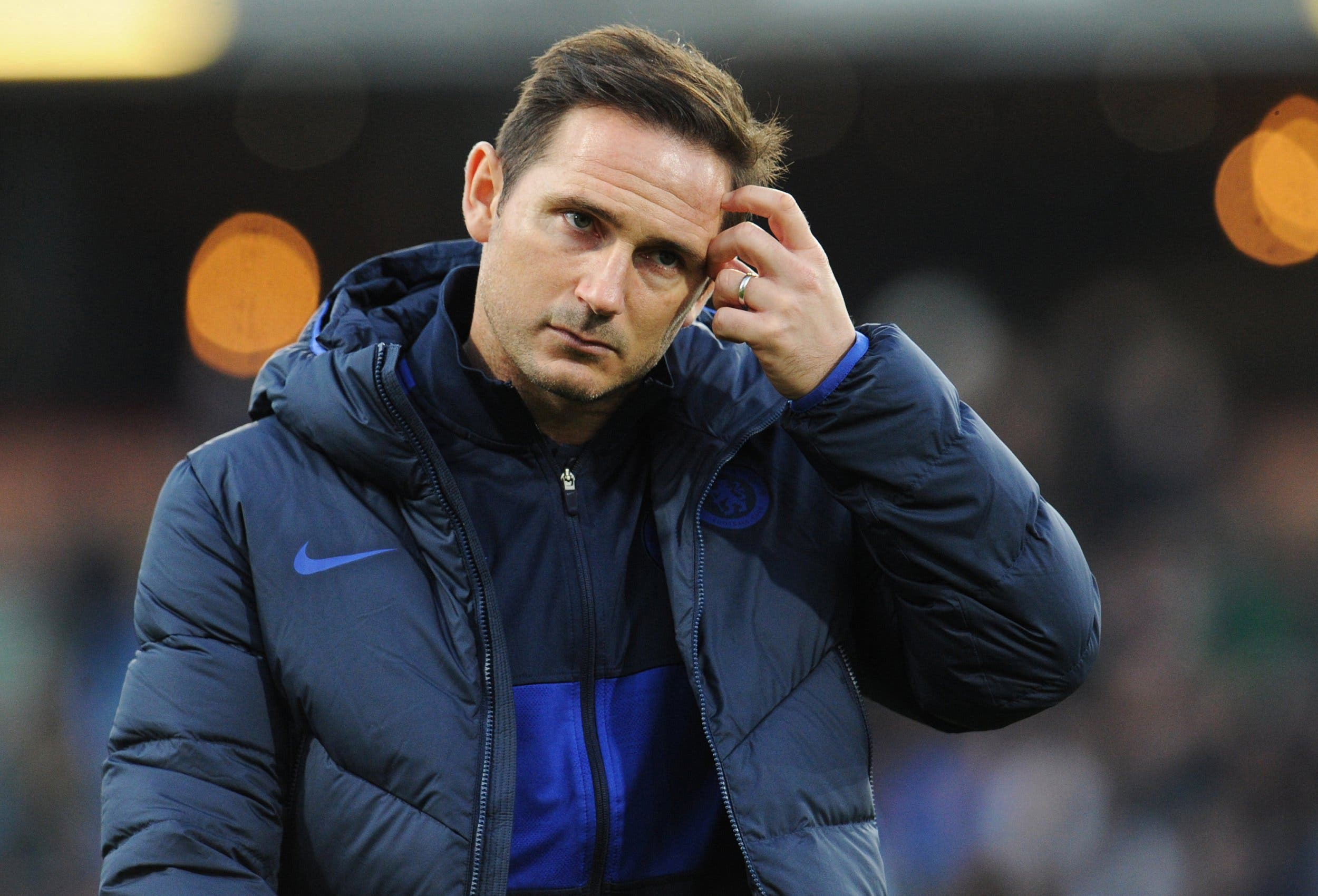 Were not firing now but will keep fighting, insists under pressure Lampard