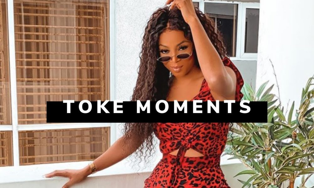 Head or Heart? Is the Question Toke Makinwa is asking on Todays Episode of Toke Moments
